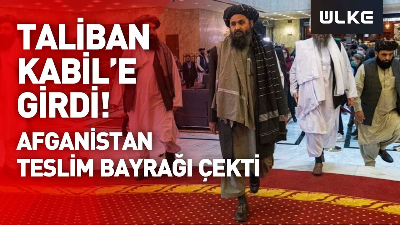 Taliban Kabil'e girdi! Başkan Ghani ülkeyi terk etti