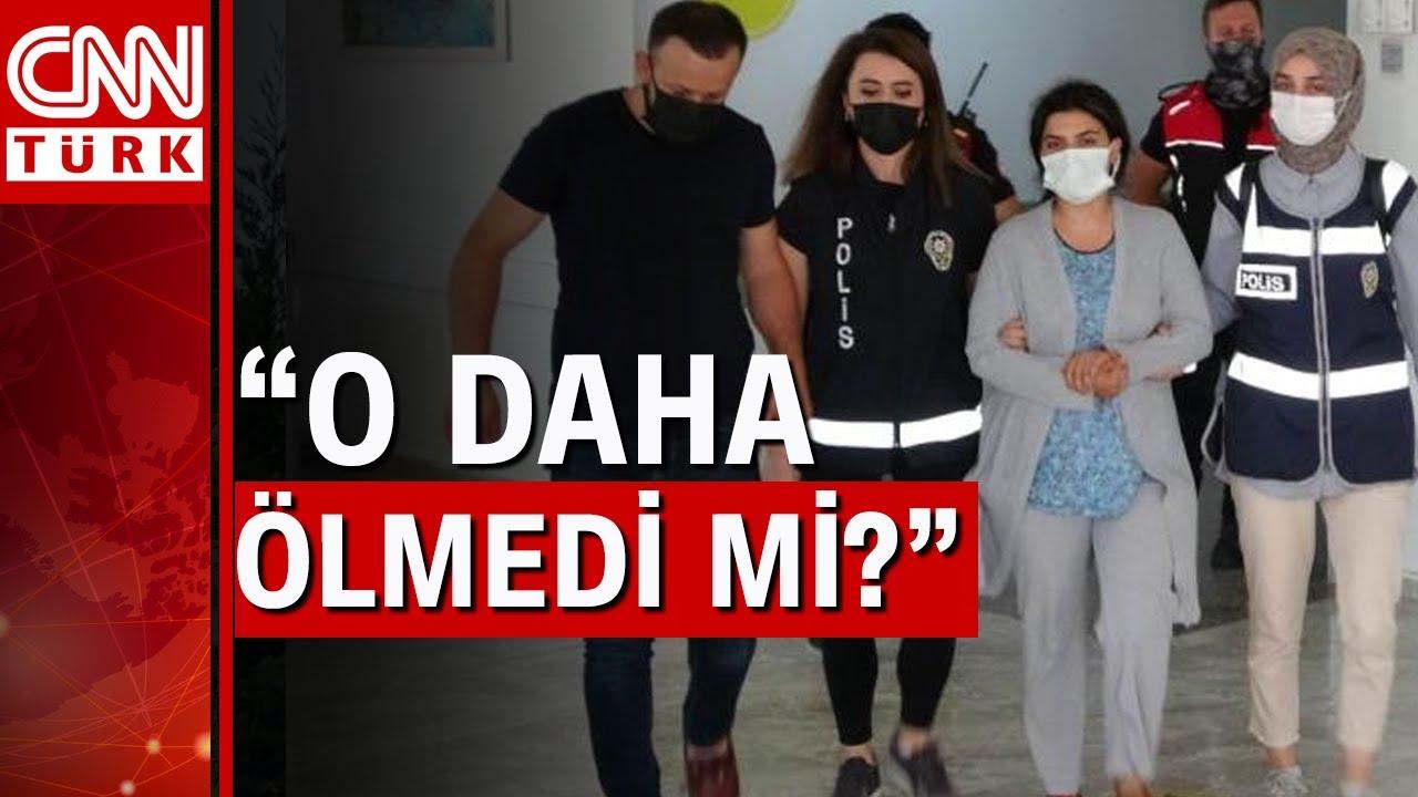 Pöh olan kocasını öldüren kadın
