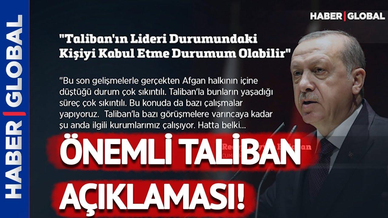 Erdoğan'dan Afgan açıklaması