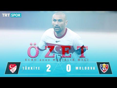 ÖZET | Türkiye 2 - 0 Moldova
