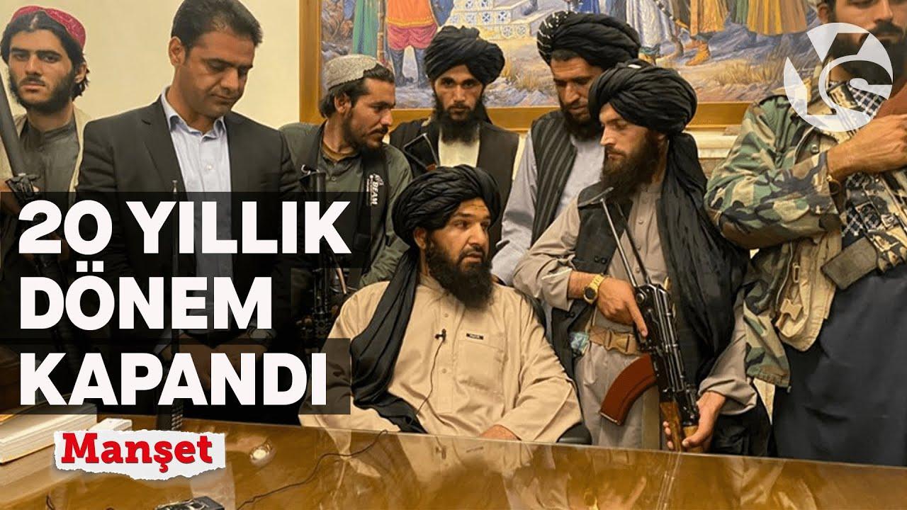 Taliban 20 yıl sonra Kabil'de