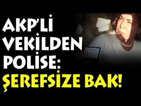 AK Partili Zeynep Gül Yılmaz'dan polise: Şerefsize bak