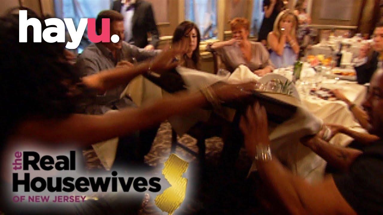 Teresa Giudice Flips The Table In Anger!