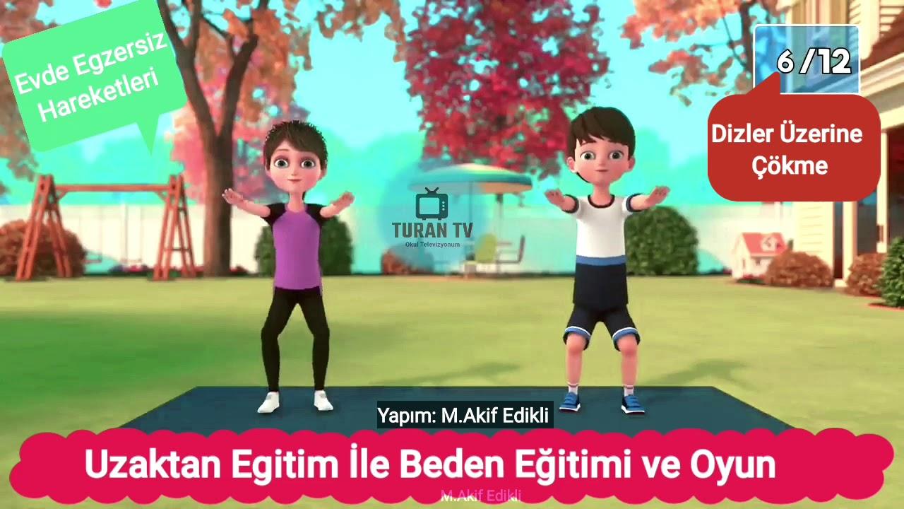 Beden Eğitimi ve Oyun Dersi  Uzaktan Eğitim Egzersizleri 3. BÖLÜM #UzaktanEğitim #BedenEğitimiveOyun