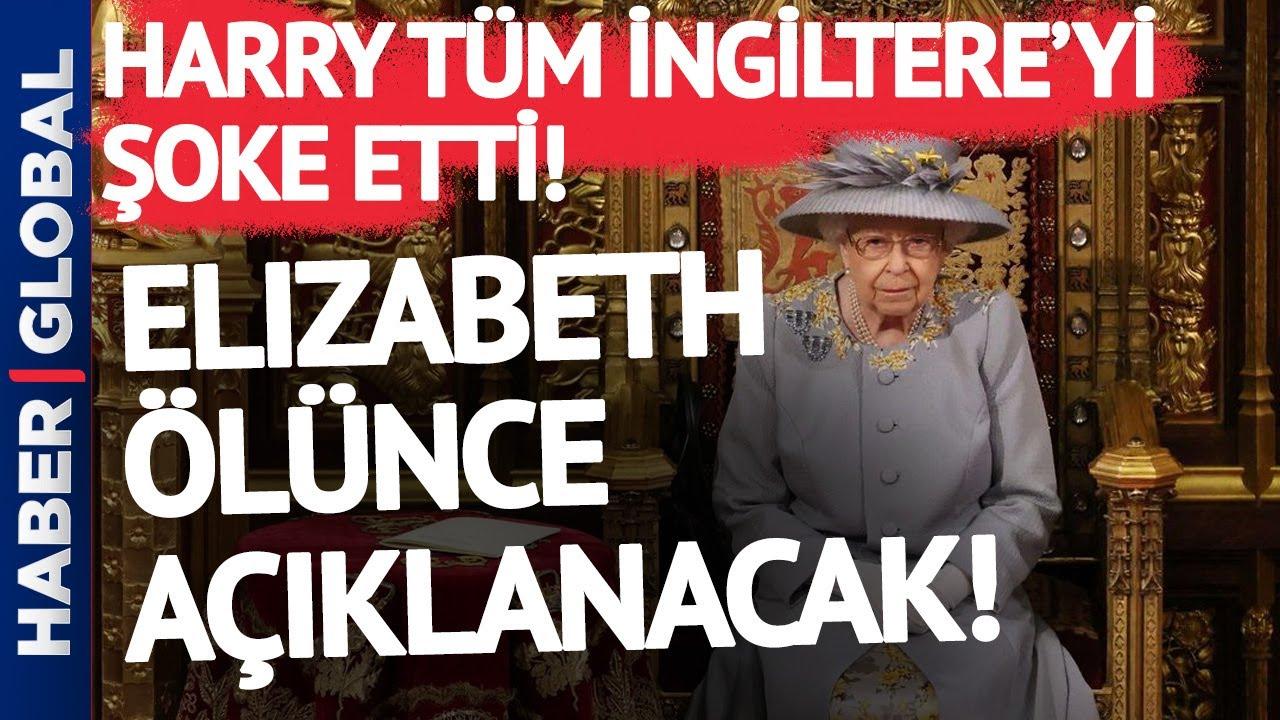 Harry İtiraf Etti! Kraliçe Elizabeth Ölünce Açıklanacak!