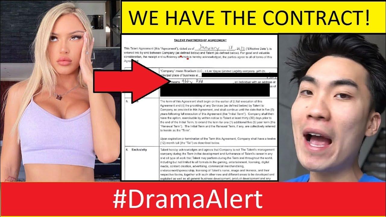 Abby Rao Contract! -  Amanda Cerny wants to Box me?