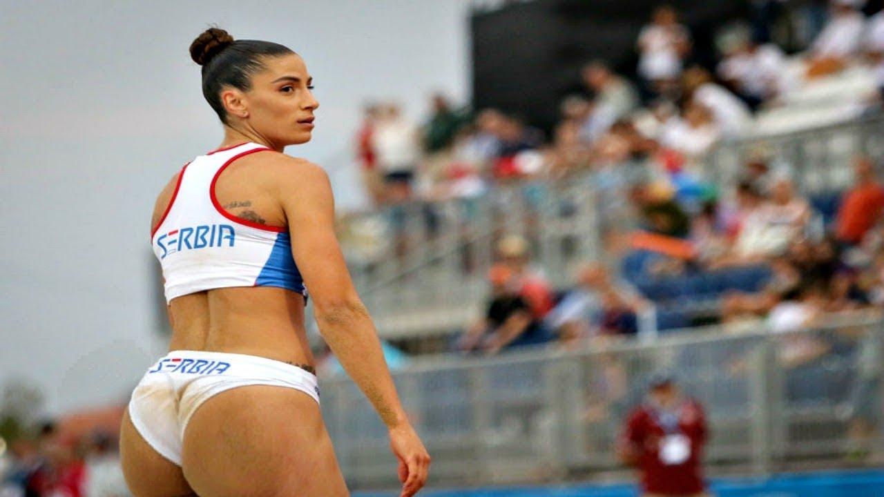Ivana SPANOVIC long jump skills