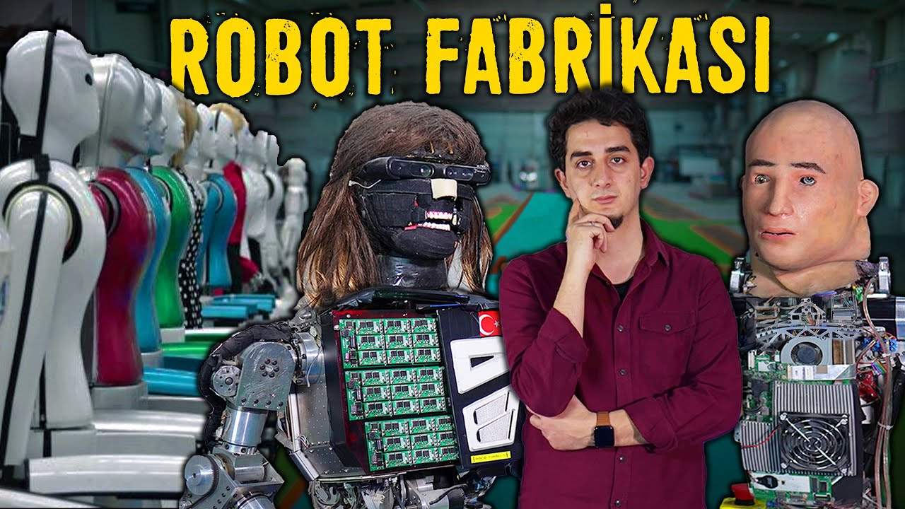 Türkiye'de Bir Robot Fabrikası - Neler Üretmişler?