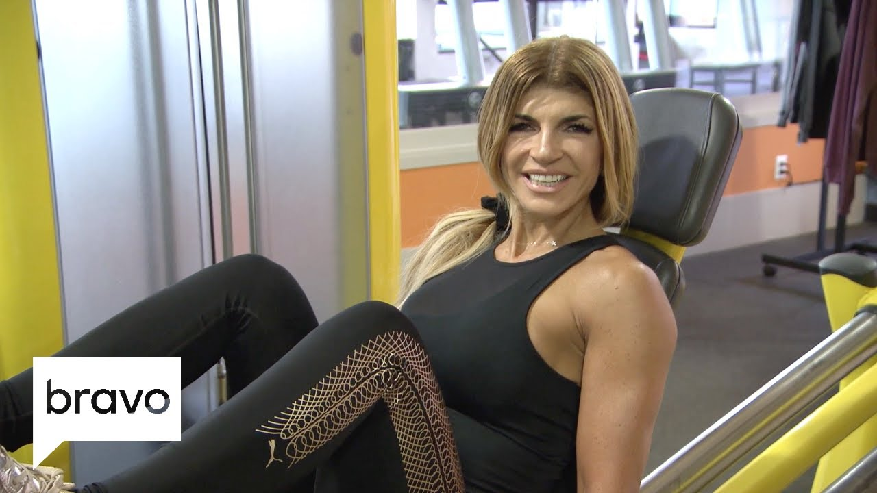 Teresa Giudice's Intense Workout Routine