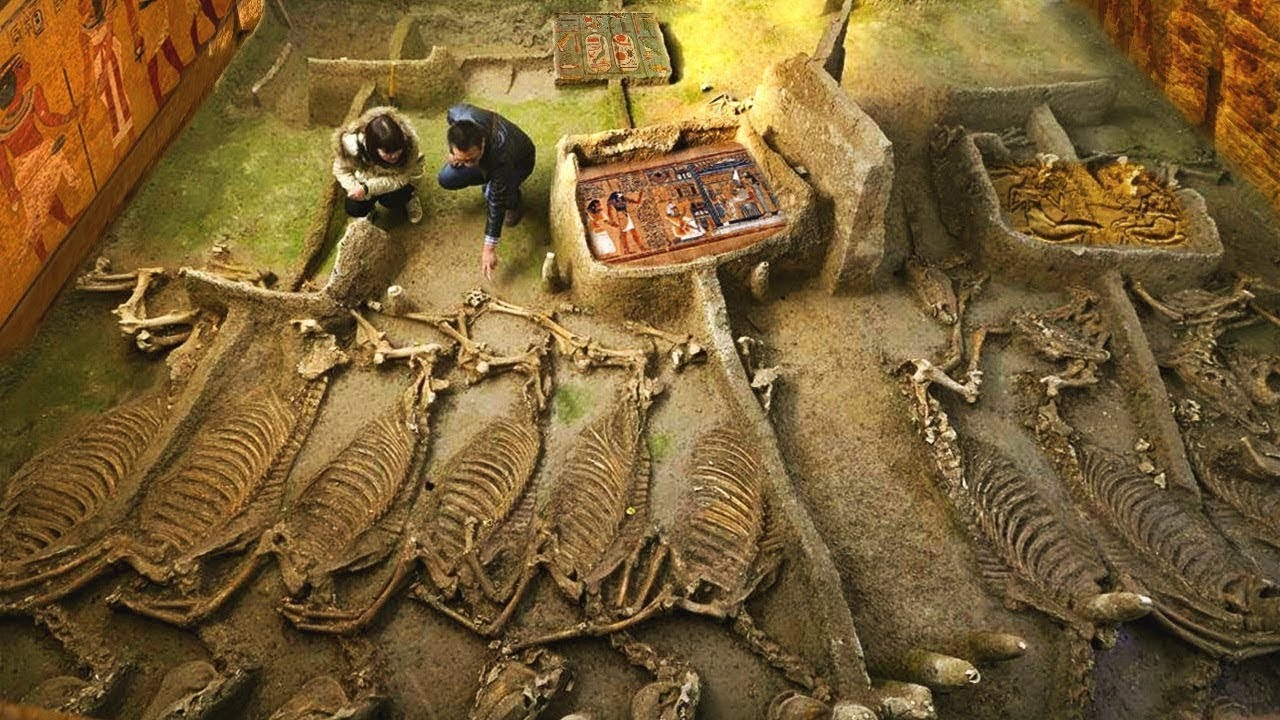 Mısır'da Bilim Adamlarını Korkutan 10 Şaşırtıcı Keşif