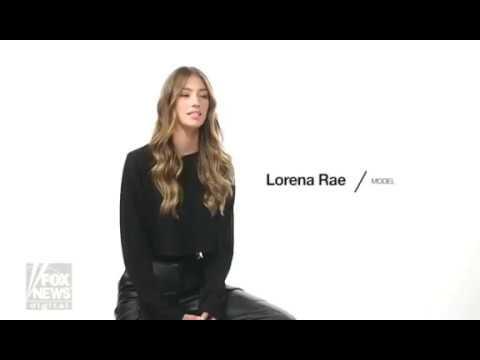 Lorena Rae'nın seksiliği nefes kesti!