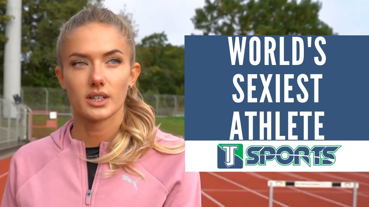 says track star dubbed world's 'sexiest athlete,' Alica Schmidt