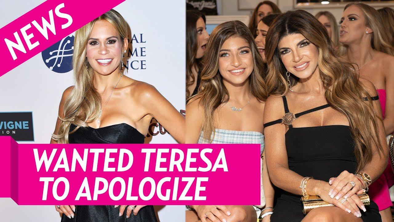 Teresa Giudice Initially Told Teresa to Apologize to Jackie After 'Coke' Drama