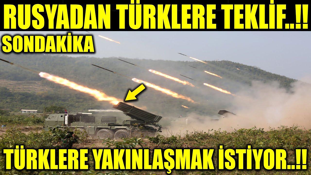 Rusya'dan Türkler'e Teklif! Türkler'e yakınlaşmak istiyor!
