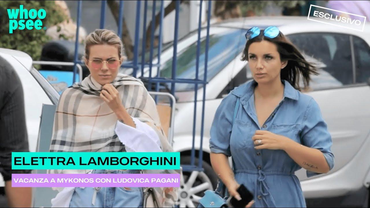 Elettra Lamborghini, vacanza a Mykonos con Ludovica Pagani