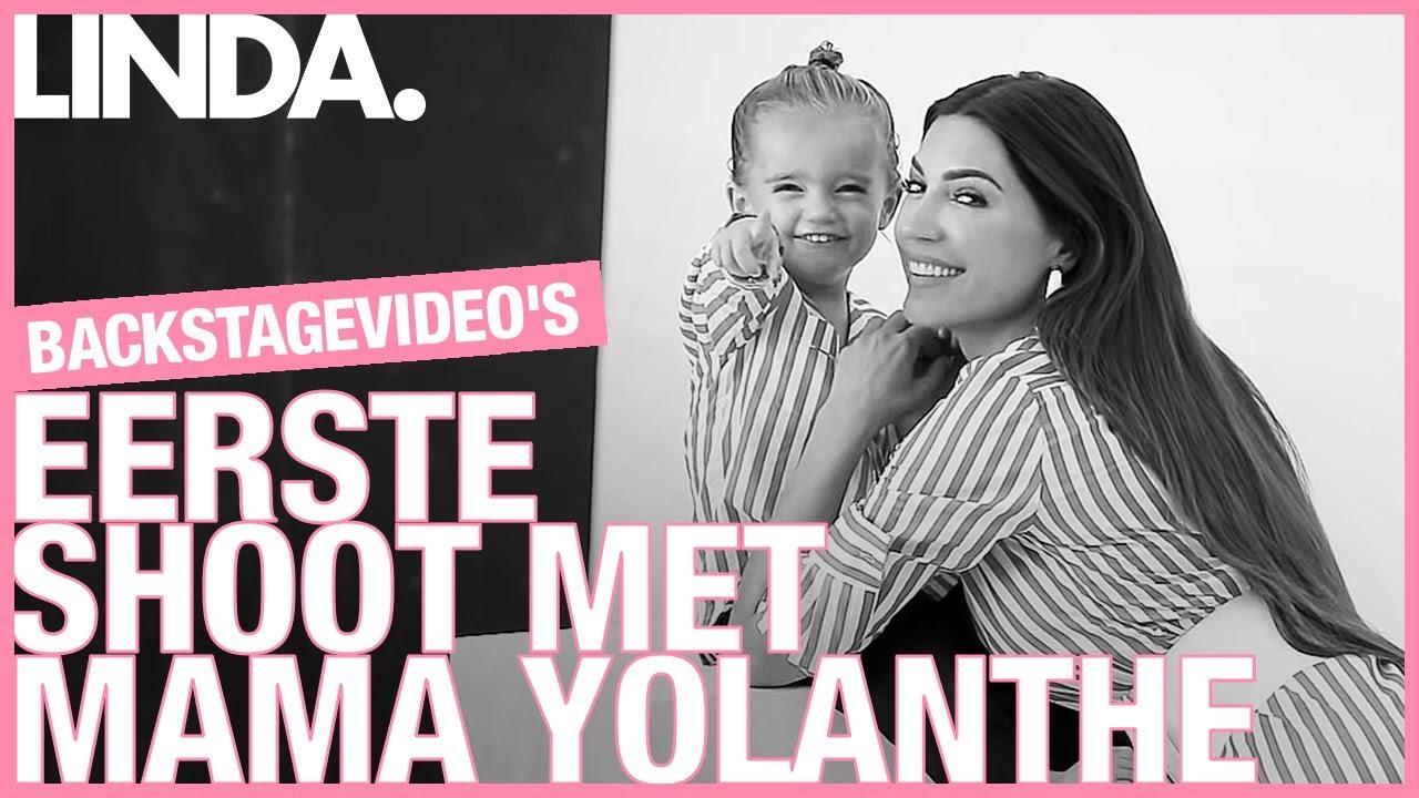 Yolanthe over haar lang gekoesterde wens: een groot gezin || Backstage video's || LINDA.