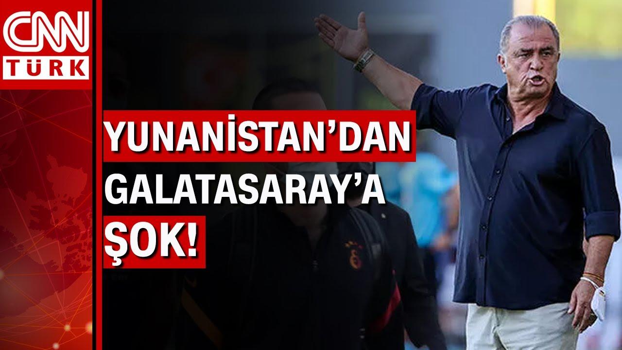 Yunanistan'a giden Galatasaray'a şok tavır! son dakika