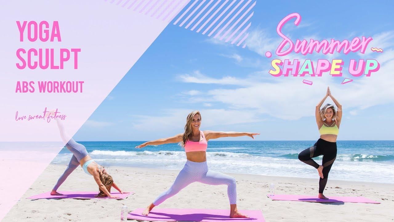 Seksi Güzeller'den Seksi Yoga Show!