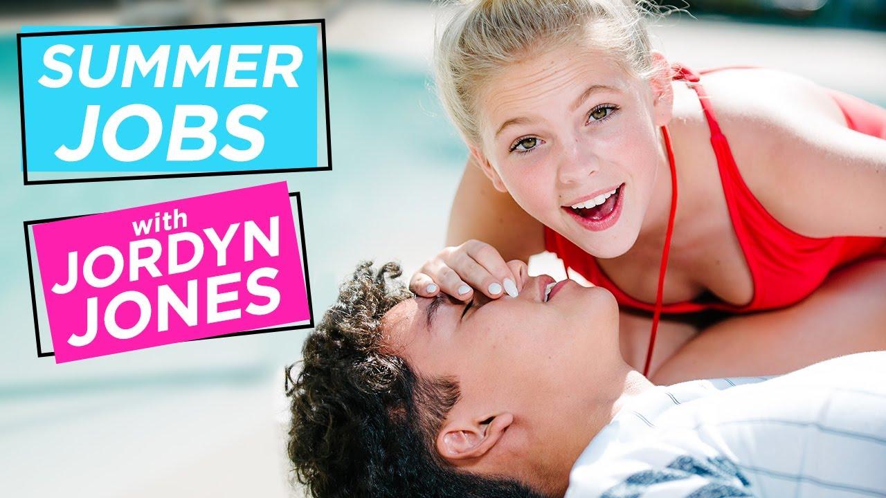 JORDYN JONES GIVES MOUTH TO MOUTH!?   Summer Jobs w/ Jordyn Jones