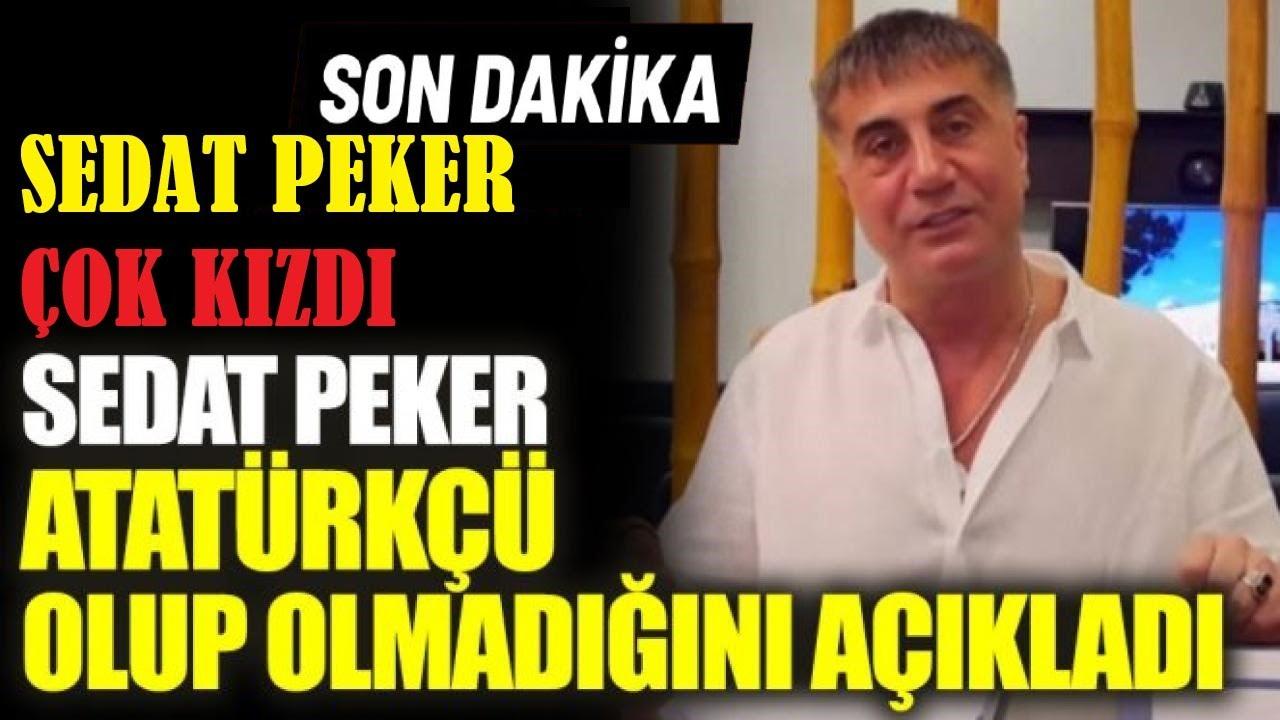 Sedat Peker'den bomba ATATÜRK paylaşımı!