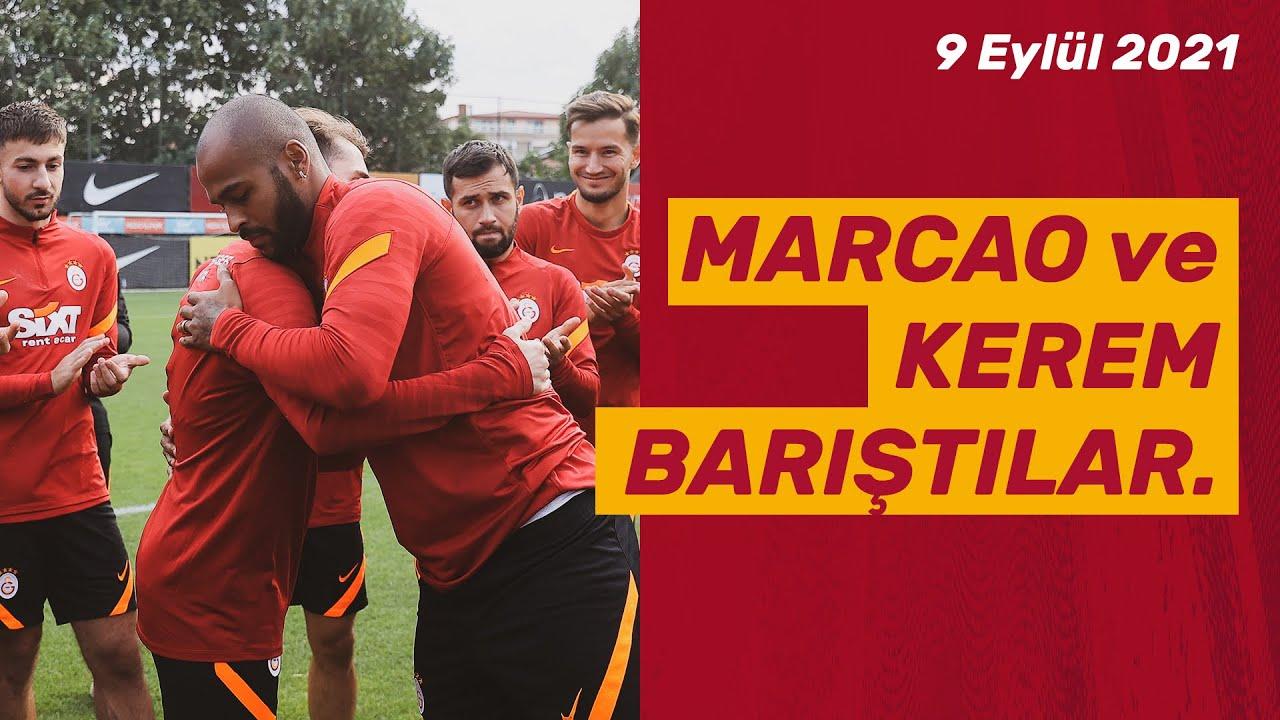 ???? Marcao ve Kerem Aktürkoğlu, takım arkadaşları önünde barıştılar.