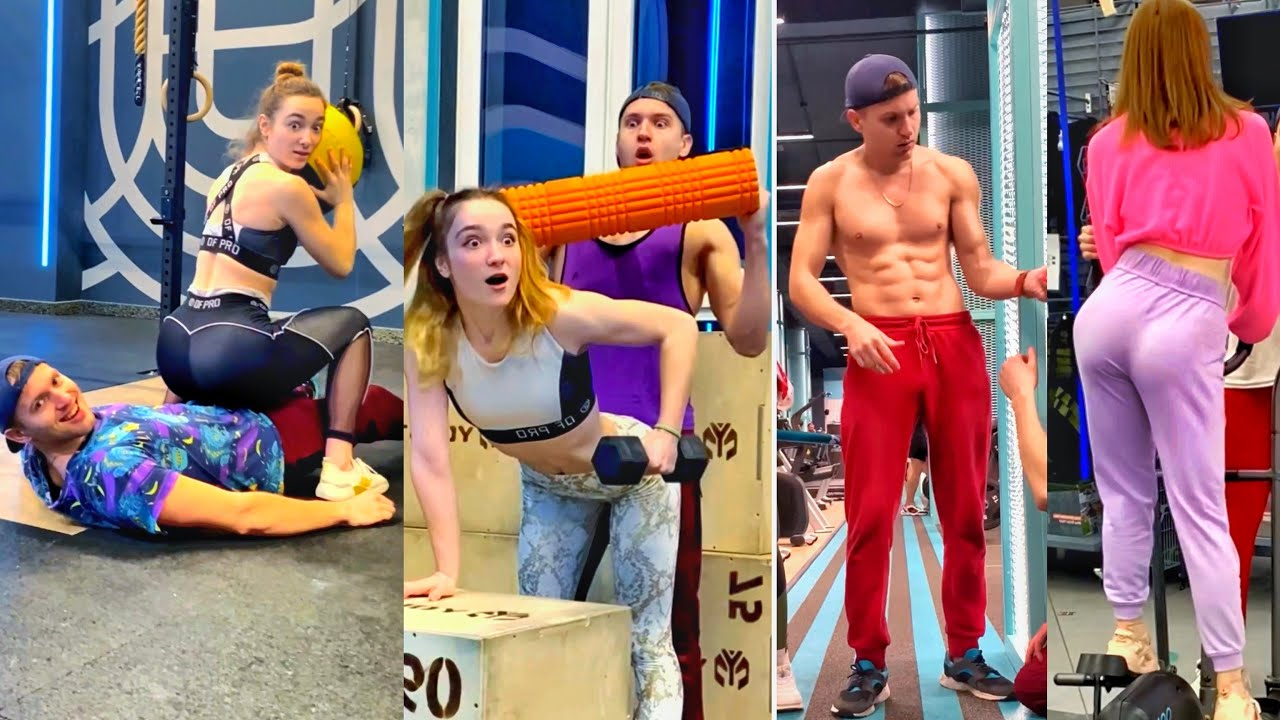 BEST PRANK WORKOUT In The Gym ???? (prt.6)