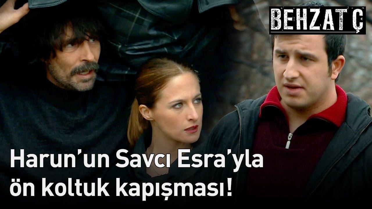 Behzat Ç. - Harun'un Savcı Esra'yla Ön Koltuk Kapışması!
