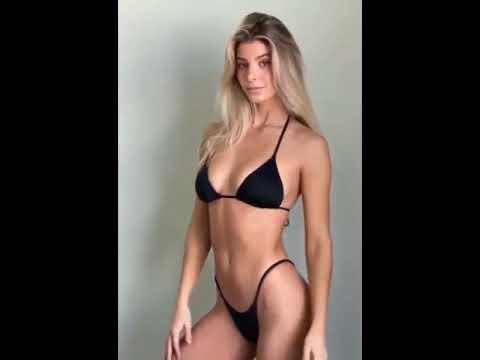QuickClipsHQ - Ashley Marie Dickerson Hot Bikini Posing #Shorts