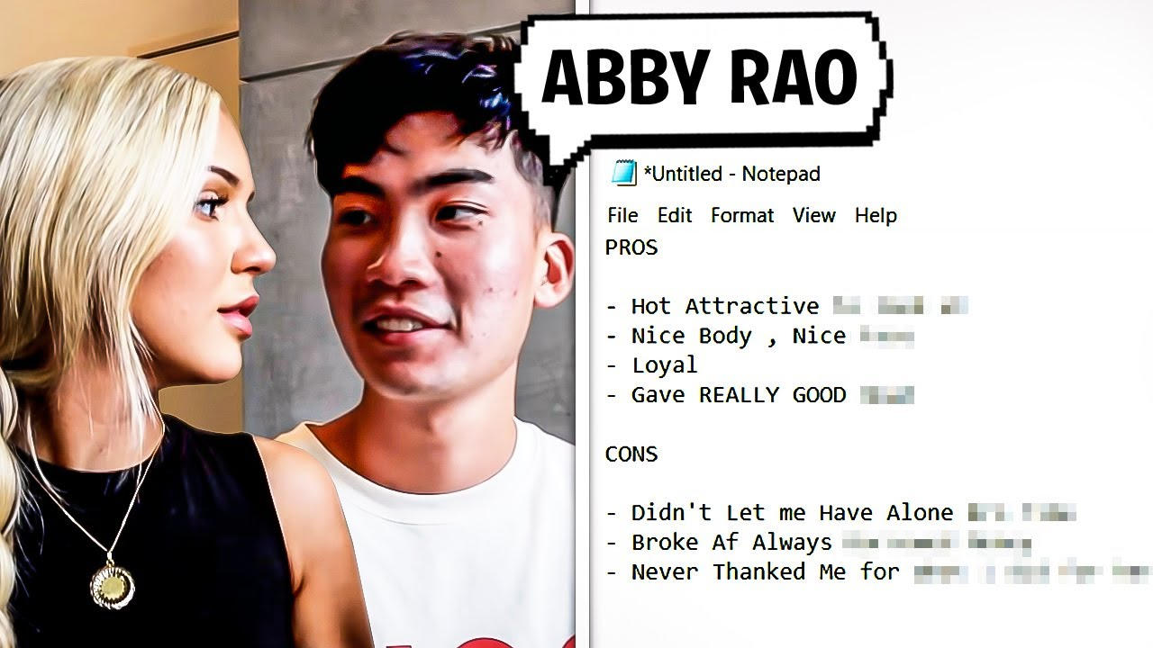 The Pros and Cons of Dating Abby Rao
