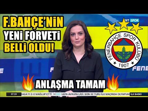 Son Dakika! Fenerbahçe'nin Yeni Forveti Belli Oldu!