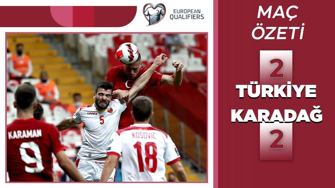 2022 Dünya Kupası Elemeleri | Türkiye - Karadağ (Özet)