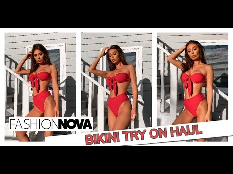 Fashıon Nova Bikini Try On Haul! Francesca Farago