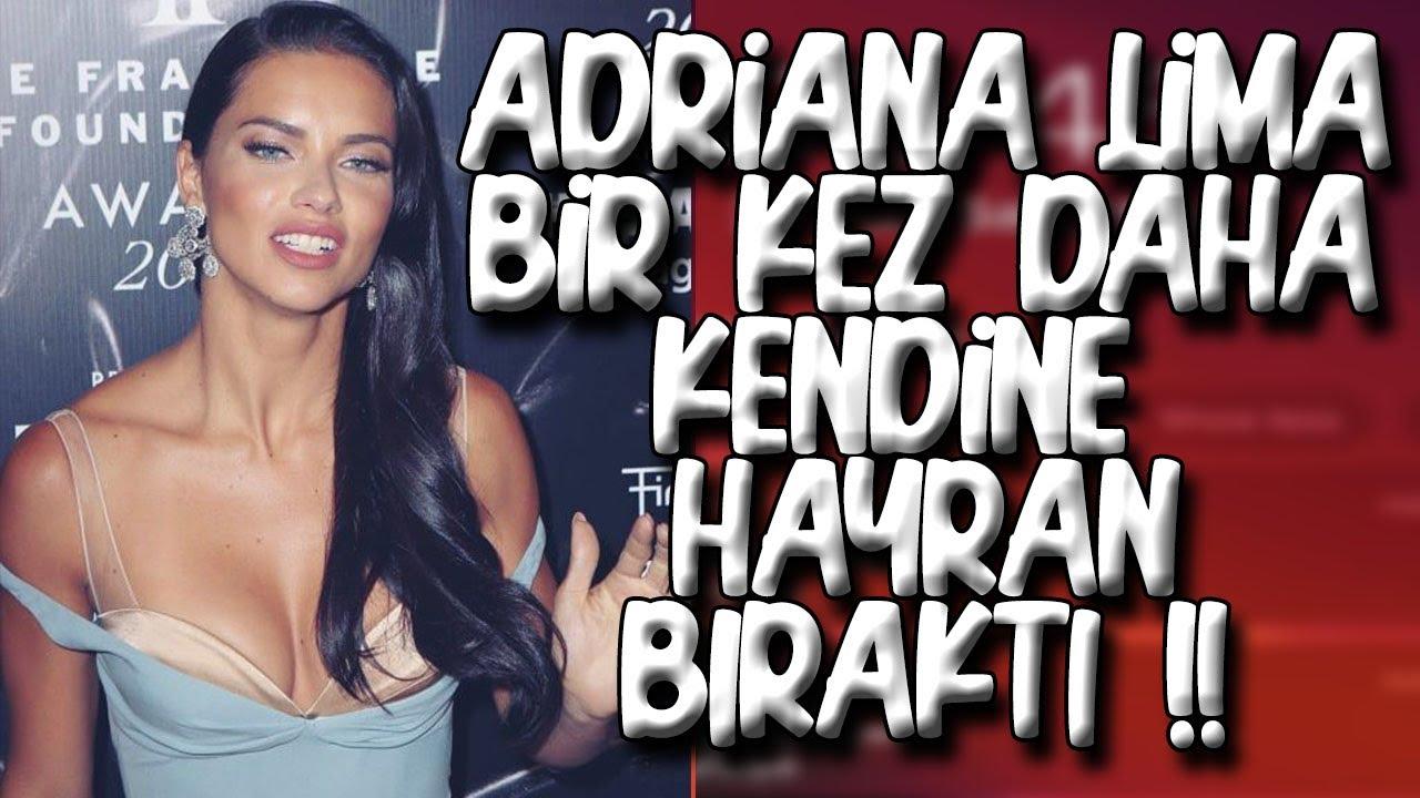 Adriana Lima'dan Olay Poz! Sahilde Çırılçıplak!