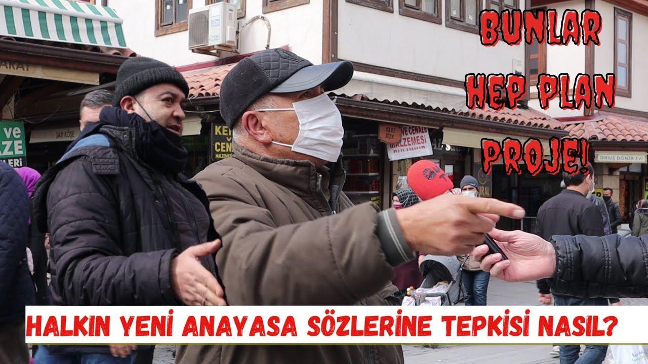 Sokak Röportajı | Halkın yeni anayasa sözlerine tepkisi nasıl? | ESNAF | Ekonomi | Konya | Halk