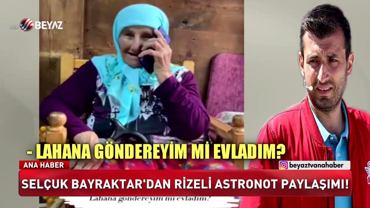 Selçuk Bayraktar'dan Rizeli astronot paylaşımı!